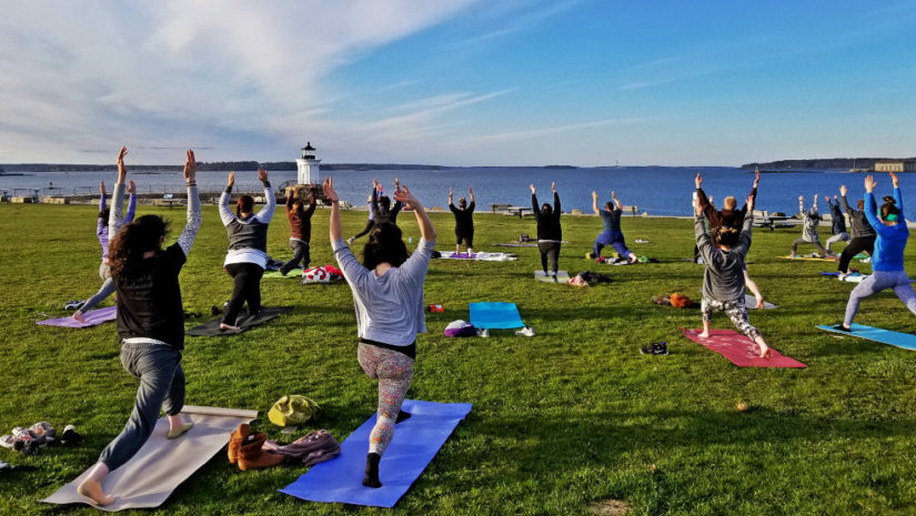 Yoga a Bug Light with Kelly Rich Yoga
