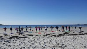 Beach Yoga Select Sundays (Kennebunkport) @ Goose Rocks Beach | Kennebunkport | Maine | United States