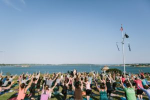 Summer Solstice Class with Lila Teachers @ Eastern Promenade, Portland