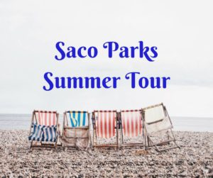 Saco Parks Summer Tour - Yoga in Saco's Parks @ Various parks around Saco