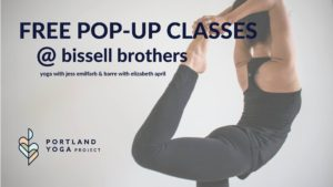 Free Yoga & Barre Classes @ Bissell Brothers | Portland | Maine | United States
