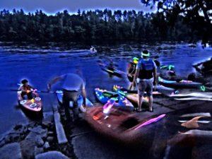 Glow Stick River Run @ Cleaver Boat Landing   Skowhegan   Maine   United States