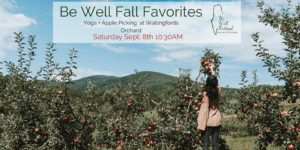 Be Well Fall Favorites - Yoga & Apple Picking @ Wallingford's Fruit House | Auburn | Maine | United States