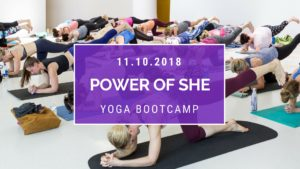 Power of SHE Yoga Bootcamp @ The Maine Mall - former Bon-Ton location  | South Portland | Maine | United States