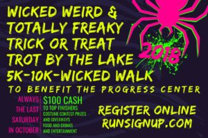 Wicked Weird and Totally Freaky Trick or Treat Trot by the Lake @ Norway Town Office  | Norway | Maine | United States