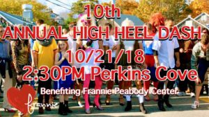 10th Annual Ogunquit High Heel Dash @ Perkins Cove, Ogunquit | Ogunquit | Maine | United States