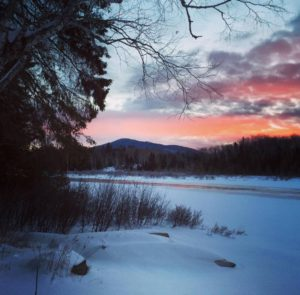 New Moon Yoga Weekend @ Mt. Chase Lodge | Patten | Maine | United States