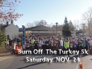 Burn off the turkey 5k @ pin 	 Gorham (ME) Recreation Department | Gorham | Maine | United States