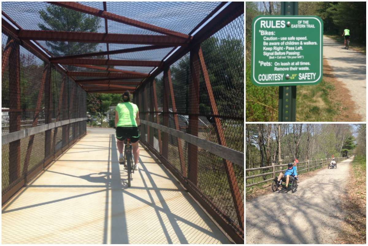 Bike & Beer: Eastern Trail in Saco, Grand Ave in Old Orchard