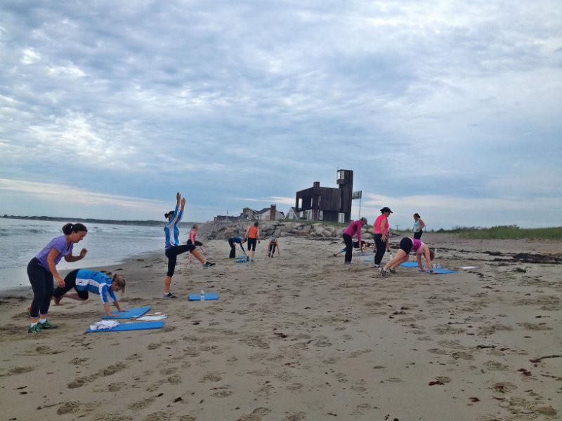 Biddeford Saco Boot Camp On The Beach Fit Maine