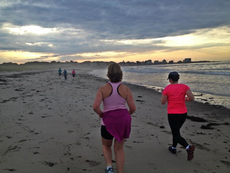 Running the beach. Shannon Bryan photo