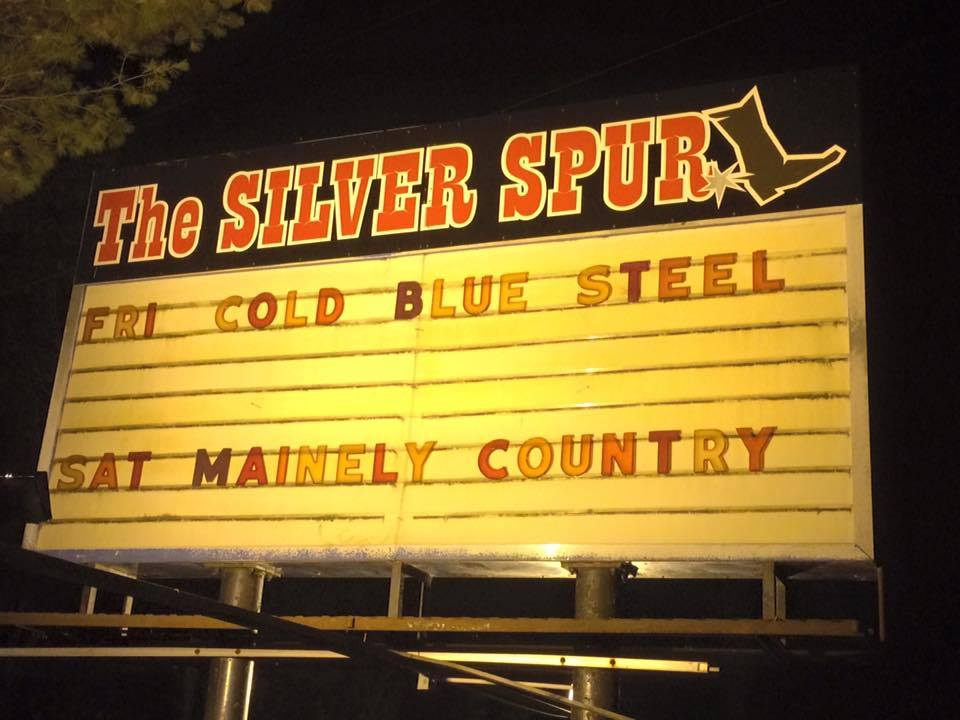 The Silver Spur sign. Look for it on Lewiston Street in Mechanic Falls. Photo courtesy The Silver Spur.