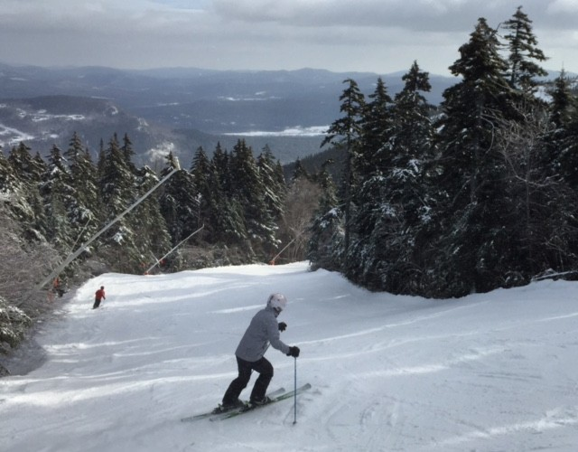 Skiiiiing! Taking to the slopes at Sunday River. Shannon Bryan photo