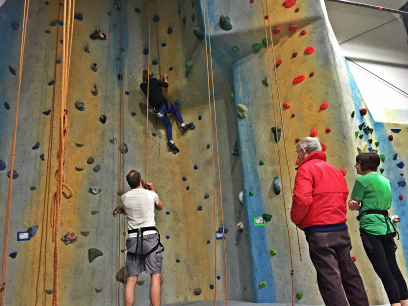 Too daunted by the towering walls? There are lots of beginner-friendly options, too. Shannon Bryan photo