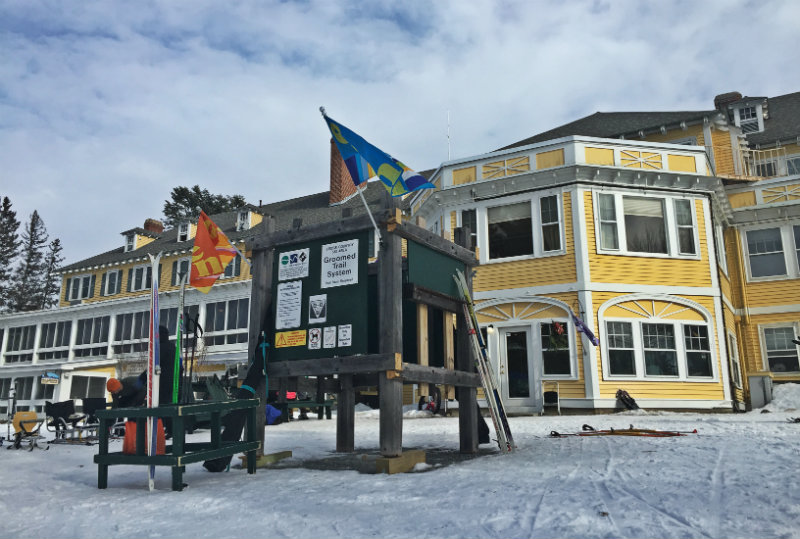 The Bethel Nordic Ski Center at The Bethel Inn Resort. Shannon Bryan photo