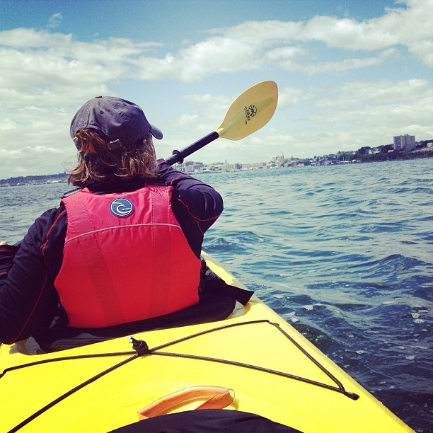 Paddle Casco Bay and stay overnight on the islands with Portland Paddle. Shannon Bryan photo