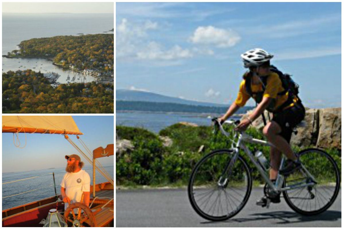 Cruise Acadia, Camden or the Kennebunks during a three-day with Summer Feet Cycling. Courtesy photos
