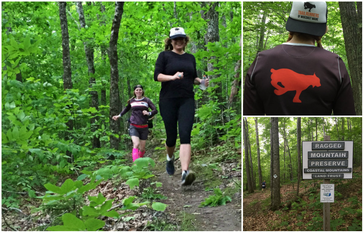 Emily and Beth on the trail. And some TRoMM swag! Shannon Bryan photos