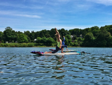 Koan Wellness Paddleboard Yoga Maine