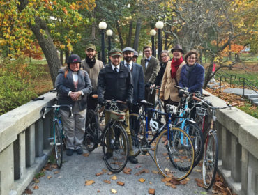 Portland Maine Tweed Ride 2016