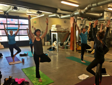 Beer + Yoga at Foulmouthed Brewing in South Portland