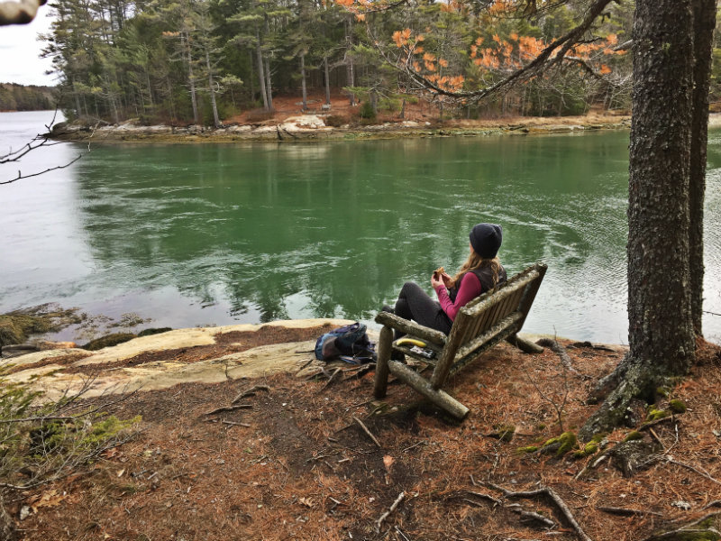 Hike Ovens Mouth Preserve in Boothbay: Coastal views on two peninsulas