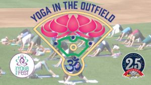 Yoga in the Outfield @ Hadlock Field   Portland   Maine   United States