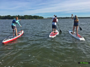 Free Weekly Early Morning SUP Paddles @ Portland Paddle | Portland | Maine | United States