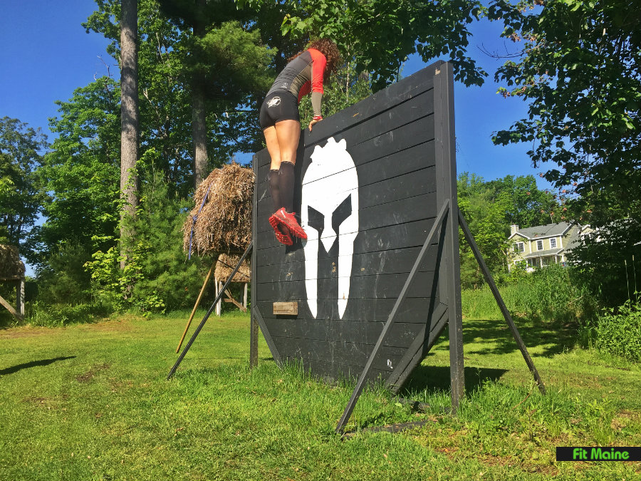 Spartan SGX BFD obstacle course biddeford maine