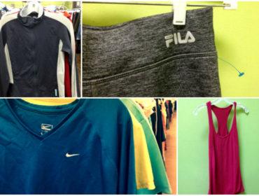 goodwill maine workout apparel
