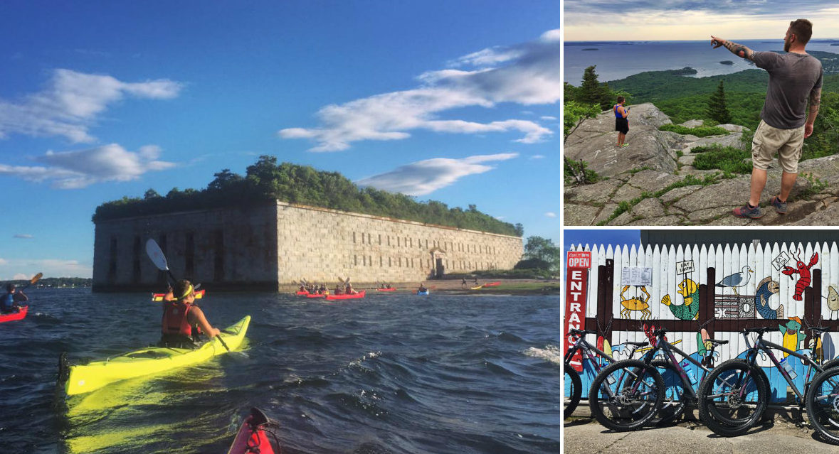 Visit Maine, DO stuff: Hiking, biking, walking, paddling tours to explore the state