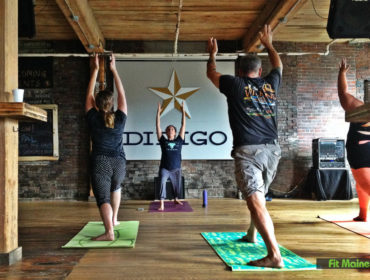 Yoga at Dirigo Brewing Co. in Biddeford