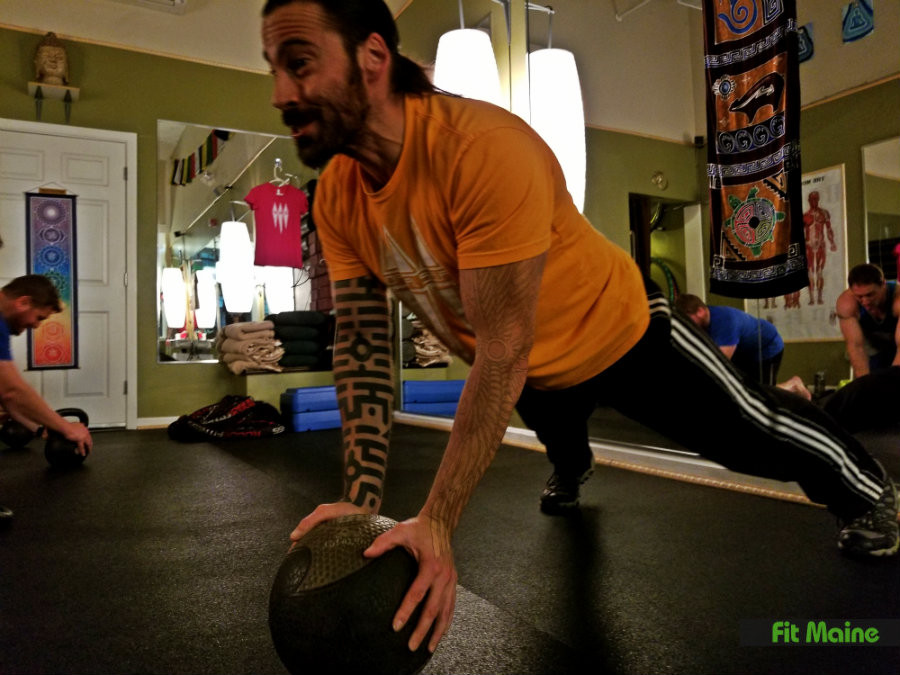 Pull-up, push-up, dip: Body Weight Routine at Optimal Self