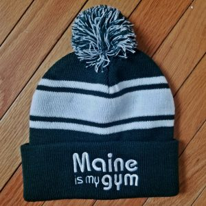 Maine is my gym hat - green