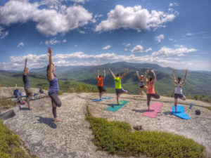 Yoga Hike in the Whites @ Welch-Dickey Trailhead | Thornton | New Hampshire | United States