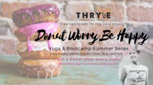 Donut Worry Be Happy Yoga + Bootcamp @ Bug Light Park | South Portland | Maine | United States