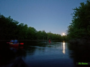 Full Moon Paddle @ Hirundo Wildlife Refuge
