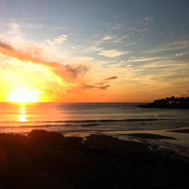 Sunset Beach Yoga Fit Maine