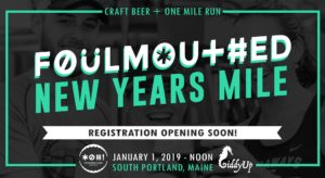 Foulmouthed New Year's Mile 2019 @ Foulmouthed Brewing | South Portland | Maine | United States