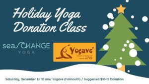 Holiday Yoga at Yogave - Donation Class @ Yogave Generosity Yoga | Falmouth | Maine | United States