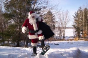 Sunday Snow Shoeing with Santa @ Nordic Heritage Sport Club | Presque Isle | Maine | United States
