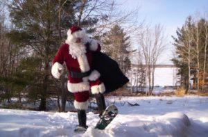 Sunday Snow Shoeing with Santa @ Nordic Heritage Sport Club | Presque Isle | Maine | United States