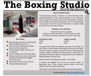 Boxing Fitness Classes @ 10-Week Boxing Fitness Classes | Topsham | Maine | United States