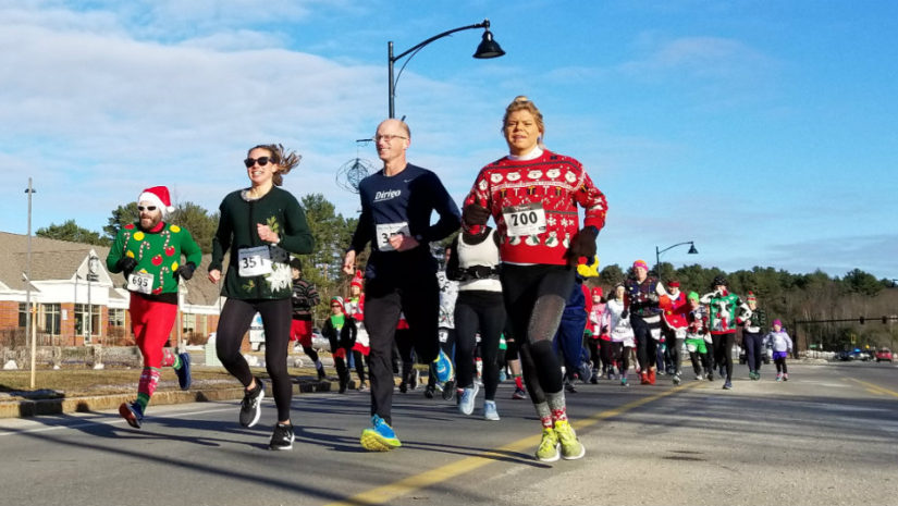 Ugly Sweater 5K and Merry Mile in Falmouth