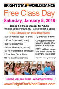 Free Class Day at Bright Star World Dance! @ Bright Star World Dance