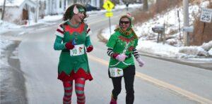 Icy Elf 5K @ Waldoboro Village