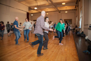 Beginning Swing Dance Classes w/ Portland Swing Project @ Mechanics Hall Ballroom