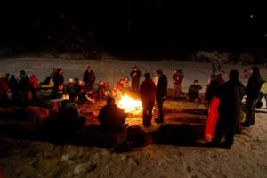 Bonfire & $10 Tubing | Auburn Winter Festival @ Lost Valley Ski Area