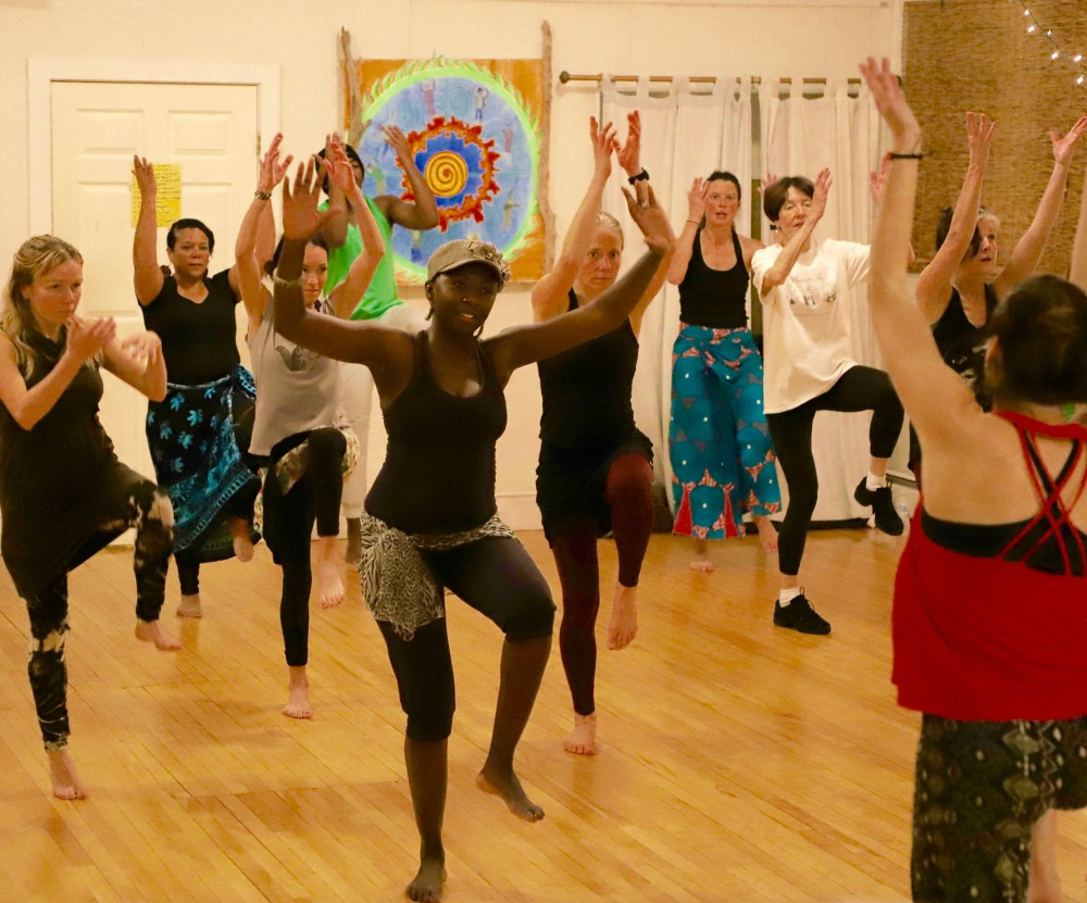 West African Dance with Embody the Rhythm at Portland New