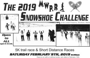 The MWP&R Snowshoe Challenge, Windham
